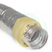 Tubulatura Flexibila Aluminiu Izolata